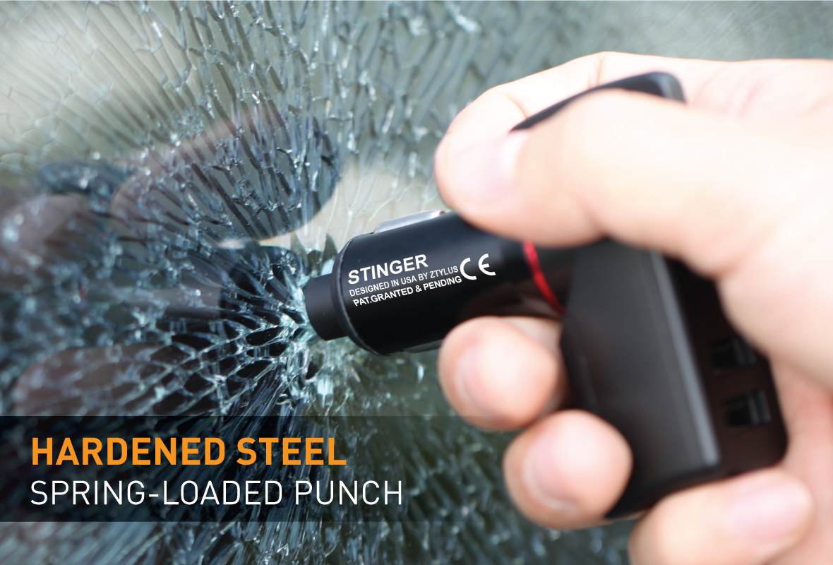 ZTYLUS STINGER EMERGENCY ESCAPE TOOL: A LIFE-SAVING INNOVATION, Extension Cigarette Lighter Connection